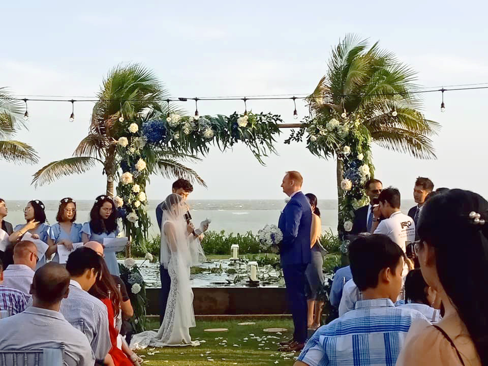 Beach Wedding at Anoasis Resort Long Hai